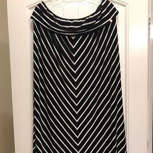 Calvin Klein Strapless Mid-length casual dress